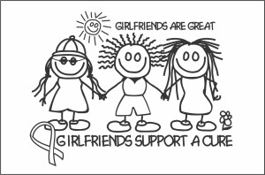 girlfriends support a cure